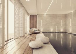 Projekt wewnętrznego basenu