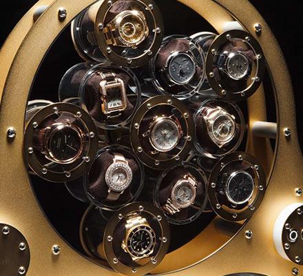 Rotomaty stojak na zegarki w XXI wieku