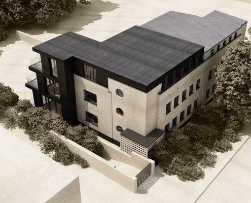 Rozbudowa i przebudowa modernistycznej willi