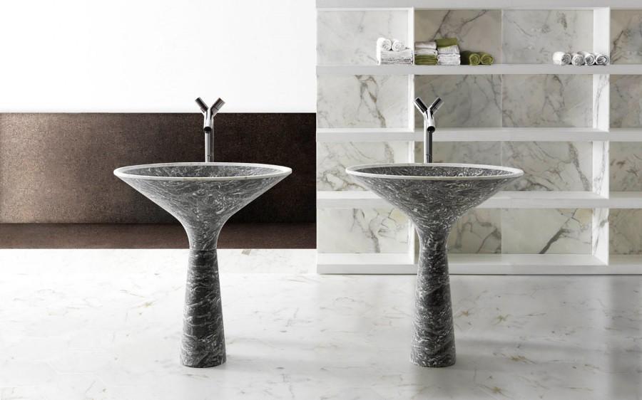Umywalki z marmuru Dry Kreoo