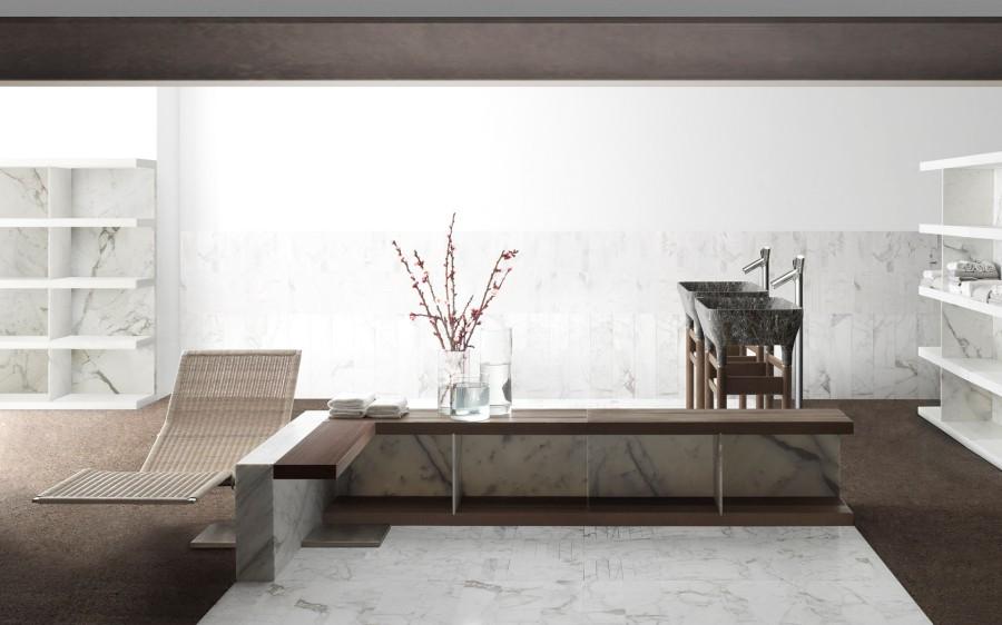 Umywalki z marmuru Loto Kreoo 1