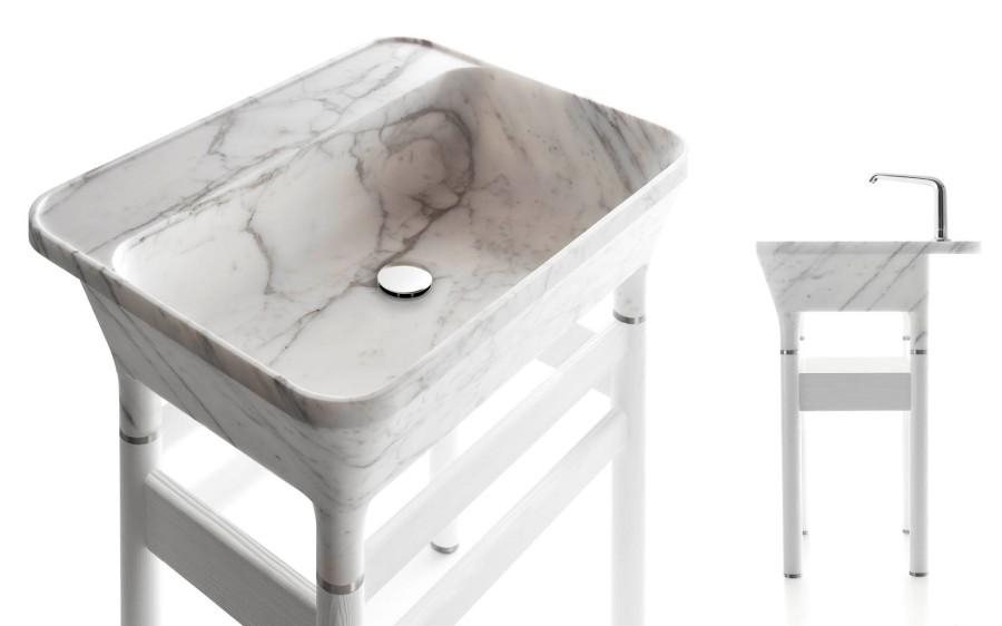 Umywalki z marmuru Loto Kreoo