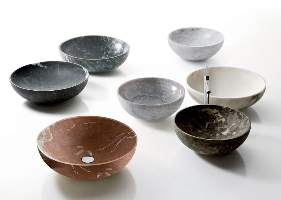 Umywalki z marmuru NAbhi 4 Kreoo 1