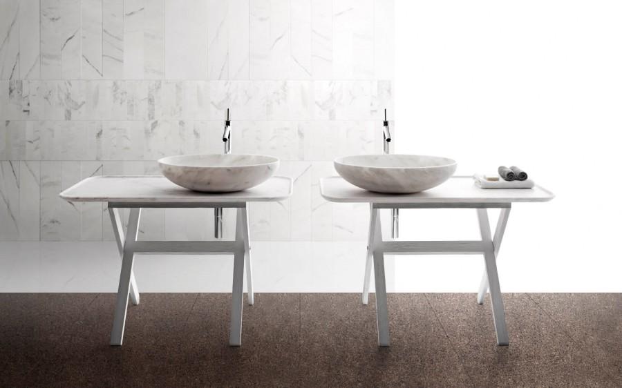 Umywalki z marmuru NAbhi 4 Kreoo 2