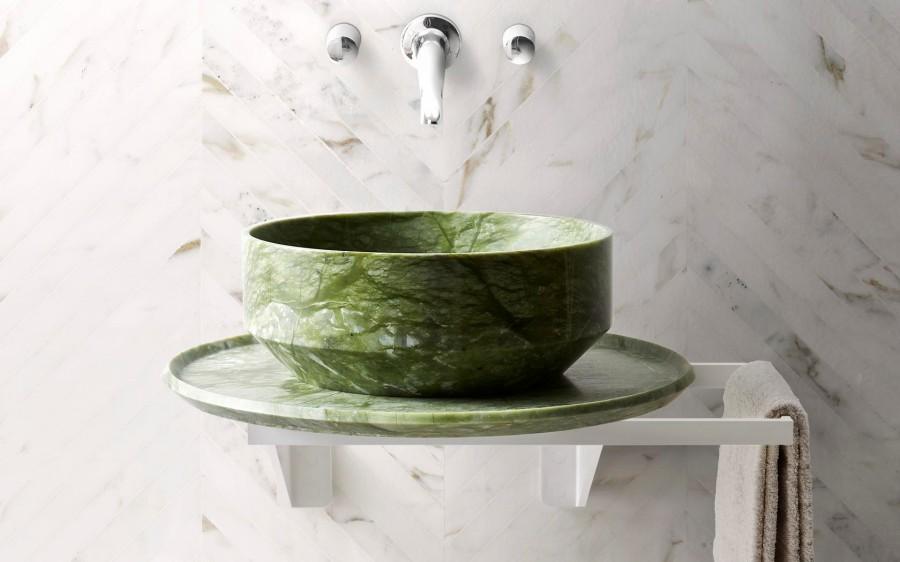Umywalki z marmuru Nabhi 2 Kreoo