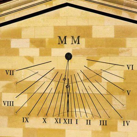 Ścienne zegary słoneczne David Harber