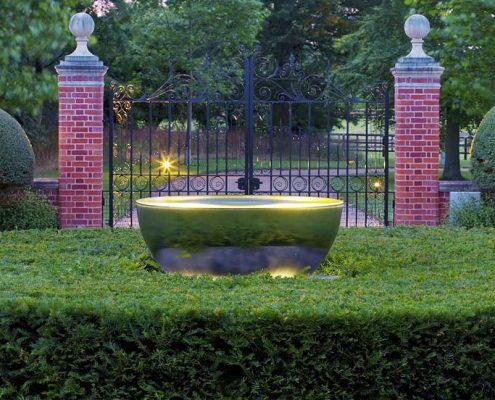 Aranżacja ogrodu w klasycznego podjazdu