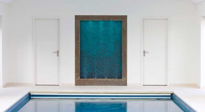 Ekskluzywna ściana wodna wewnętrzna David Harber