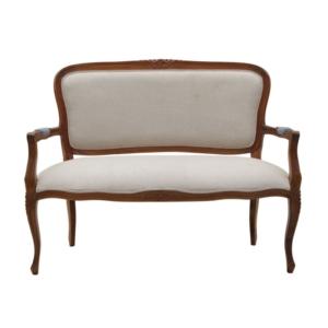 Klasyczna ławka ogrodowa z oparciem Settee Mozaic
