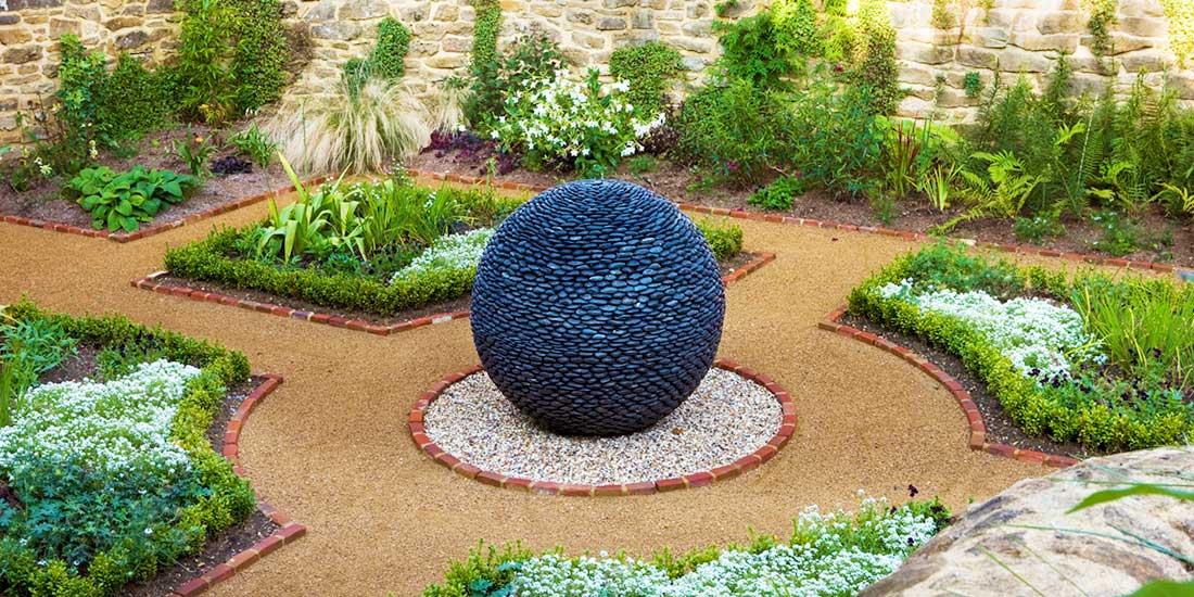 Kuliste rzeźby ogrodowe z kamienia