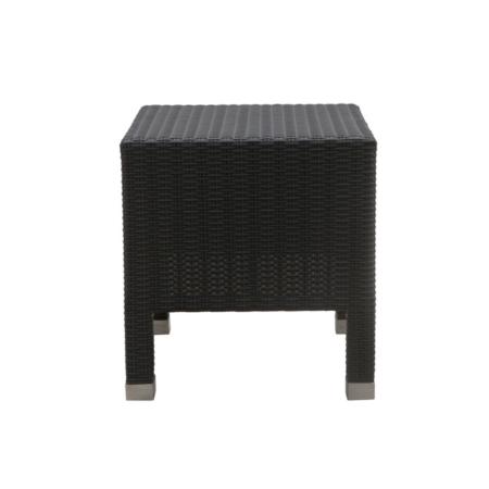 Kwadratowy stolik pomocniczy zewnętrzny Sentosa