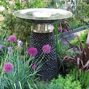 Mała fontanna ogrodowa VORTEX David Harber