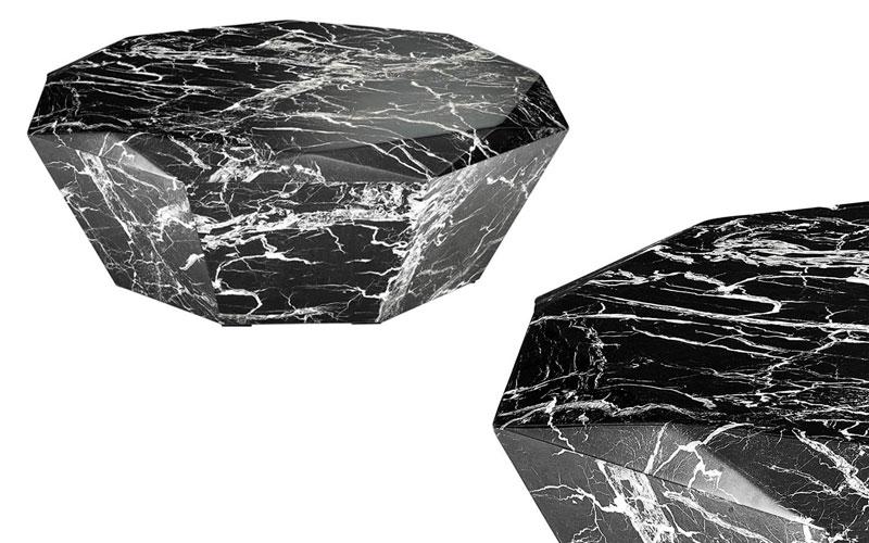 Marmurowe stoliki Diamond Eichholtz
