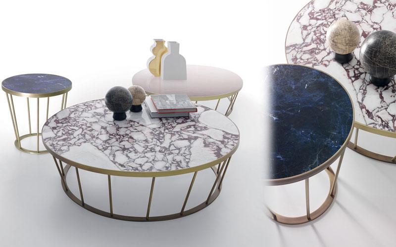 Marmurowe stoliki Dora Kreoo
