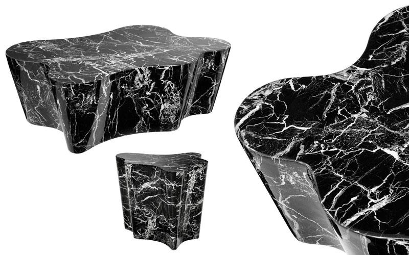 Marmurowe stoliki Sceptre Eichholtz