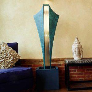 Nowoczesna rzeźba i fontanna w jednym VOLANTE David Harber