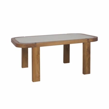 Prostokątny stolik kawowy zewnętrzny Dual 1