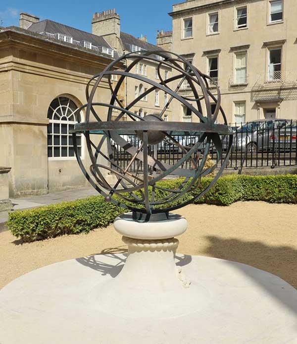 Spersonalizowany memoriał zegar słoneczny David Harber