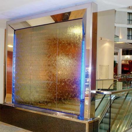 Wewnętrzne ściany wodne dekoracyjne David Harber
