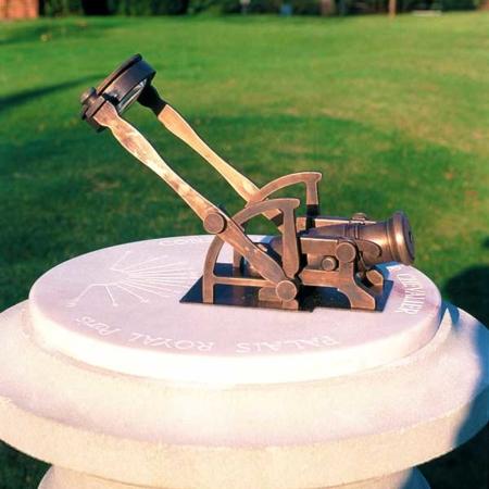 Zegar słoneczny armata południowa NOONDAY CANNON David Harber
