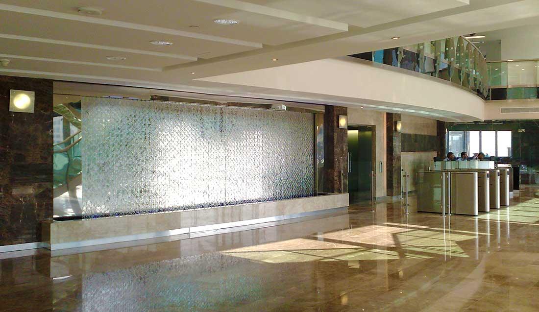 Ściana wodna lotnisko