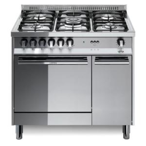 5-palnikowa kuchnia wolnostojąca gazowa z el. piekarnikiem MAXIMA MAXIMA INOX 90 MR96MFC Lofra