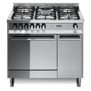 5-palnikowa kuchnia wolnostojąca gazowa z gaz. piekarnikiem MAXIMA INOX 80 MT86GV C Lofra