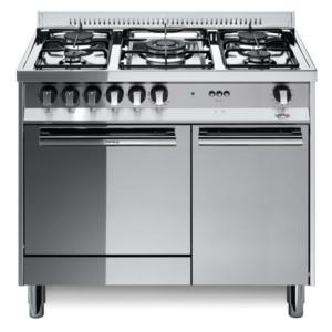 5-palnikowa kuchnia wolnostojąca gazowa z gaz. piekarnikiem MAXIMA INOX 90 MR96GV C Lofra