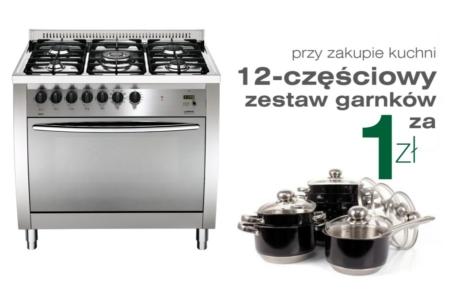 5-palnikowa kuchnia wolnostojąca gazowa z piekarnikiem CURVA 90 CG96MFC Lofra