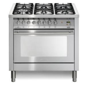6-palnikowa kuchnia wolnostojąca gazowa z el. piekarnikiem SPECIAL 90 PG96MFTCISF Lofra