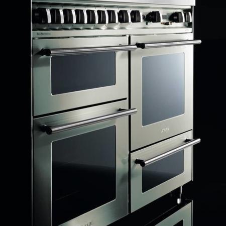 7-palnikowa kuchnia wolnostojąca 3 piekarniki SPECIAL 120 AVORIO PBI126 SMFE+MF2CI