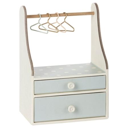 Akcesoria dla lalek mini garderoba miętowa Maileg