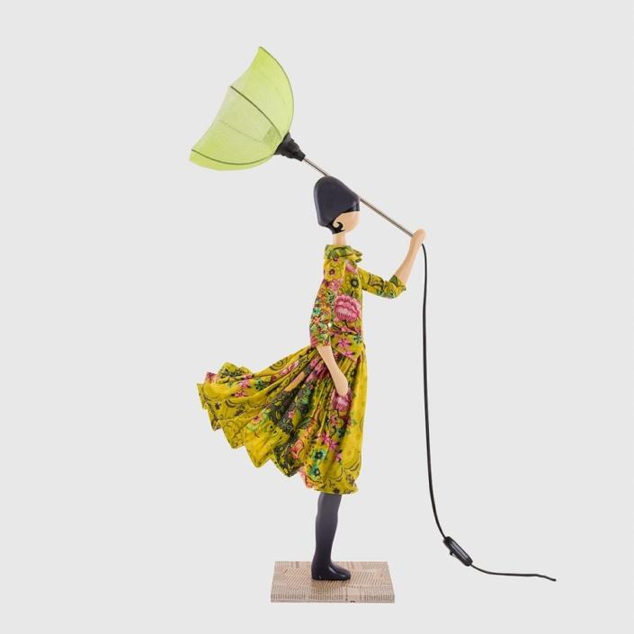Lampka dziewczynka dekoracja świetlna Melisanthi Skitso