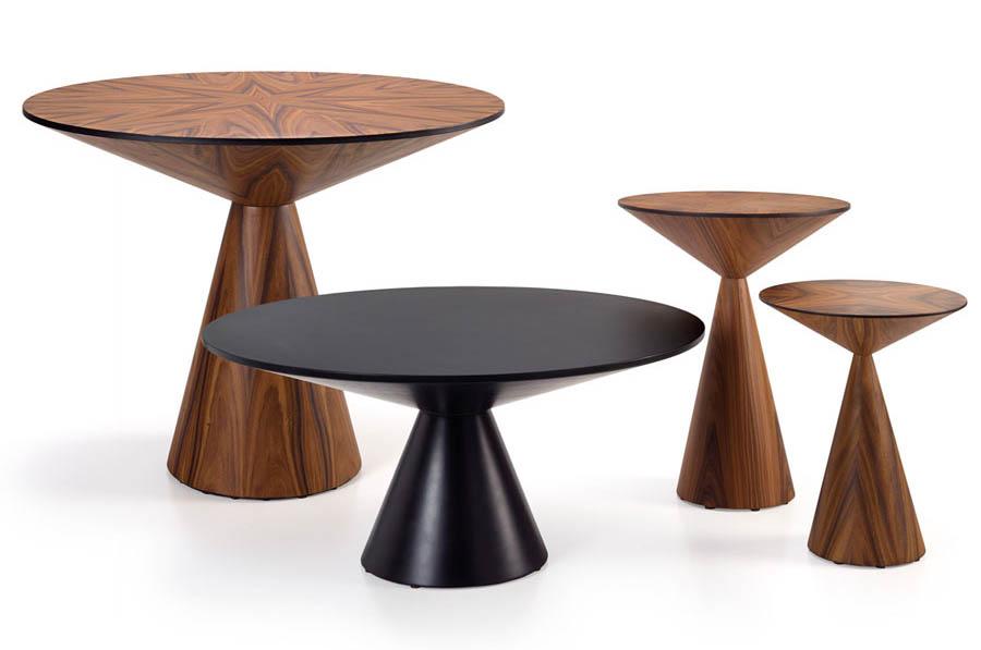 Stół okrągły na jednej nodze Lola HMD