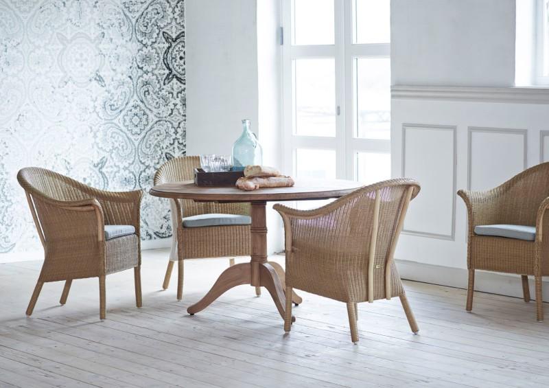 Stół okrągły na jednej nodze Michel Originals Sika Design