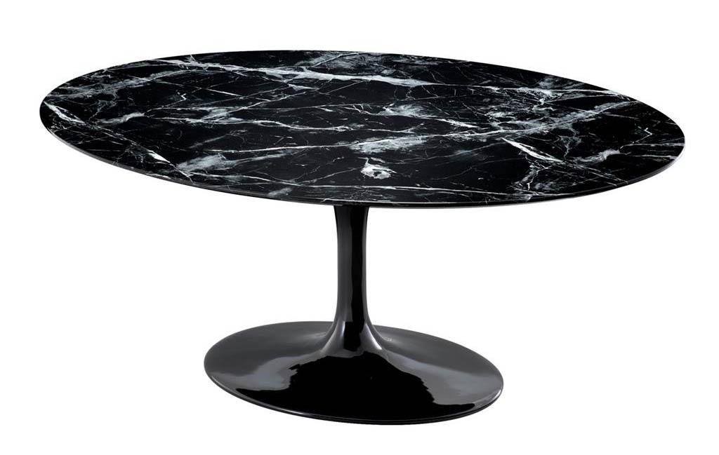 Stół okrągły na jednej nodze Solo Eichholtz