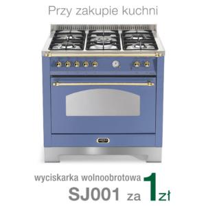 Wolnostojąca kuchnia 5-palnikowa el. piekarnik DOLCEVITA 90 LAVANDA RLVG96MFTCI Lofra