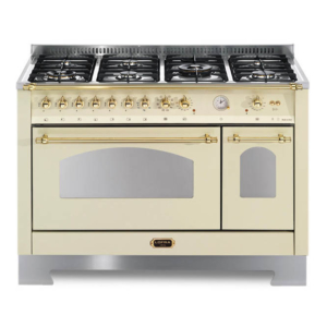 Wolnostojąca kuchnia 7-palnikowa 2-el. piekarniki DOLCEVITA 120 AVORIO RBID126MFT E2AEO Lofra