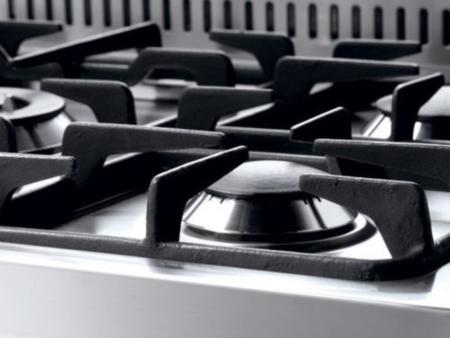 kuchnia wolnostojąca gazowa z piekarnikiem CURVA Lofra