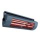 Ścienny grzejnik zewnętrzny elektryczny do restauracji Symo 1400