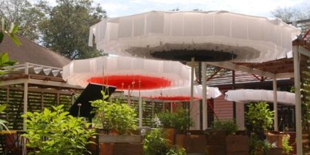 Designerski Parasol ogrodowy, zewnętrzny Bloom