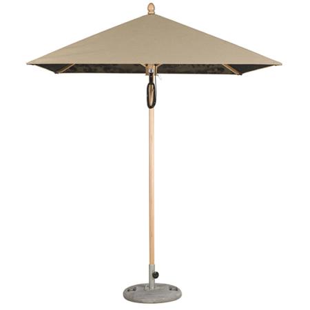 Drewniany parasol ogrodowy zewnętrzny Cache-Cache