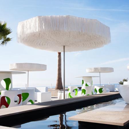 Ekskluzywny parasol ogrodowy zewnętrzny Frou Frou