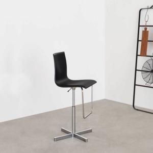Krzesło barowe z oparciem Wok