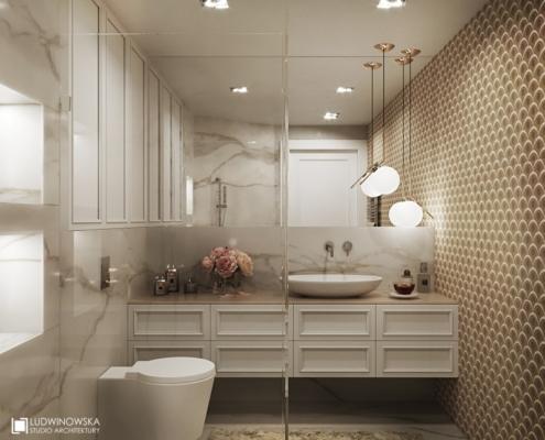 Marmur w nowoczesnej łazience