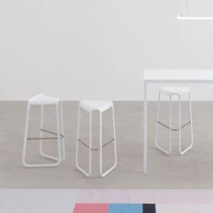 Nowoczesne krzesła barowe Myg