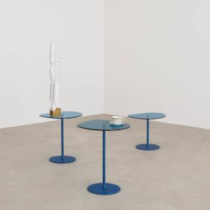 Okrągły stolik pomocniczy Mixit + Mixit Glass