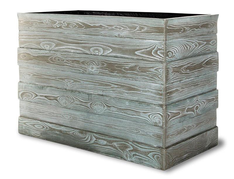 Oryginalne donice wykończenia imitacja drewna