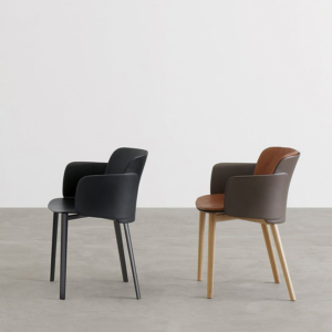 Stylowe krzesła z podłokietnikami Paper