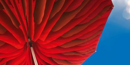 Stylowy parasol ogrodowy zewnętrzny Paddo